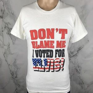1994 I Voted For Elvis Screen Stars Tee
